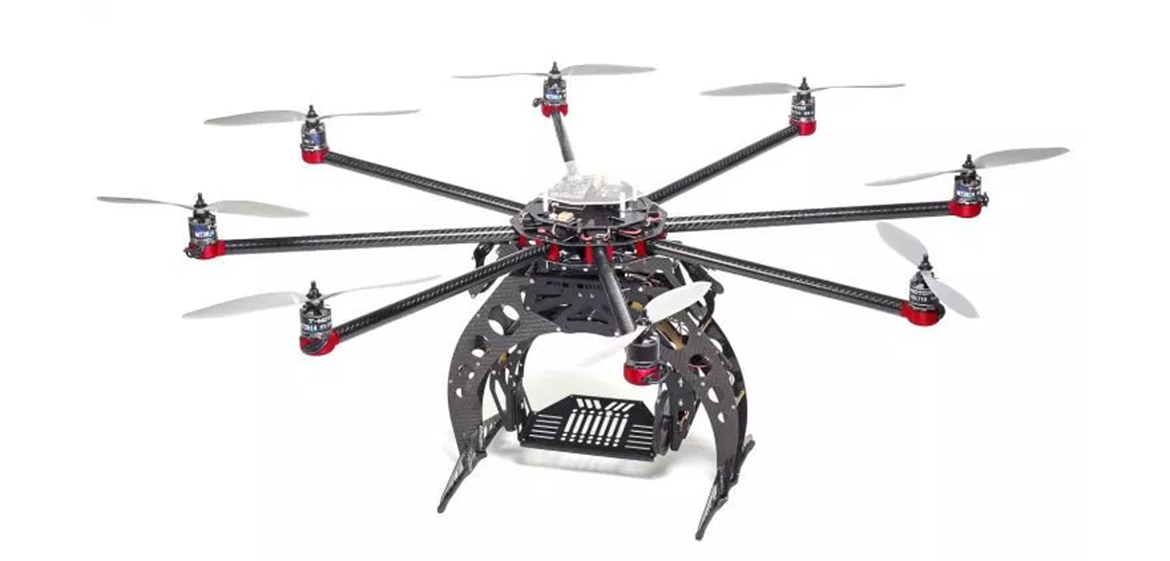 A conventional drone