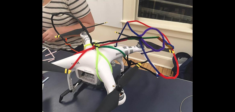 A drone prototype