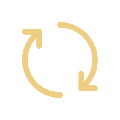 Two arrows forming a circle