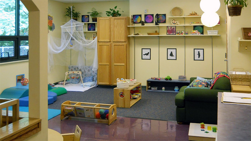 One of the infant-toddler classrooms