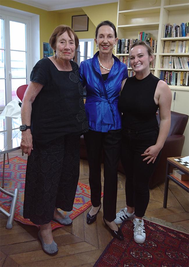 Lois Grjebine, Anita Wien and Kate Carruth
