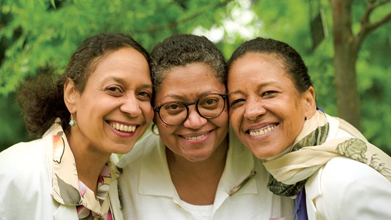 Three alumnae at Reunion