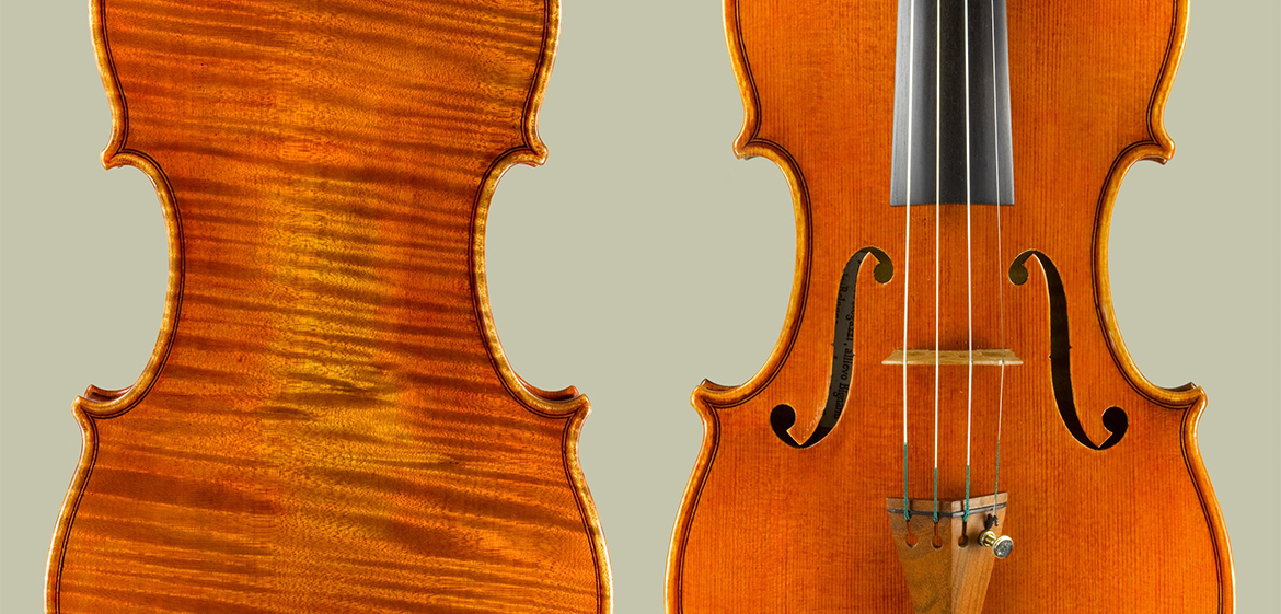 Photo detail of Italian violin