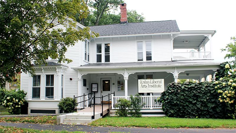 Photo of the Kahn Institute building