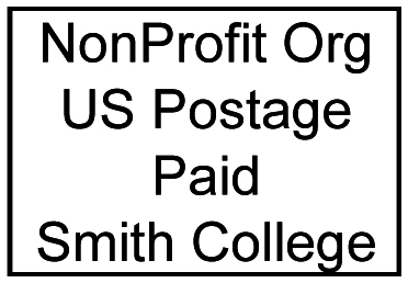 Graphic of the Smith College mailing indicia