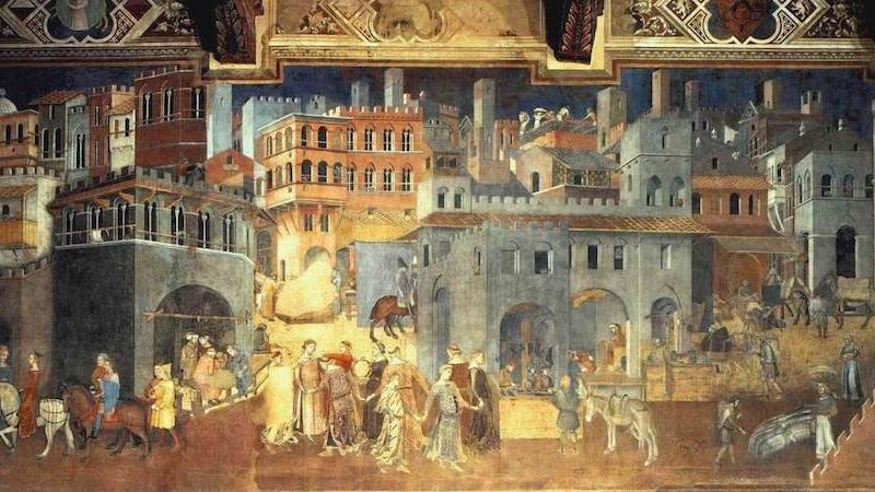 Lorenzetti painting
