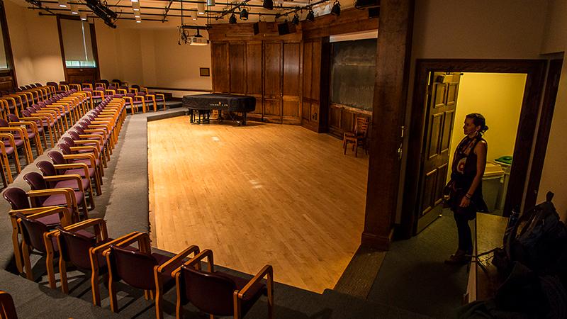 Earle Recital Hall interior