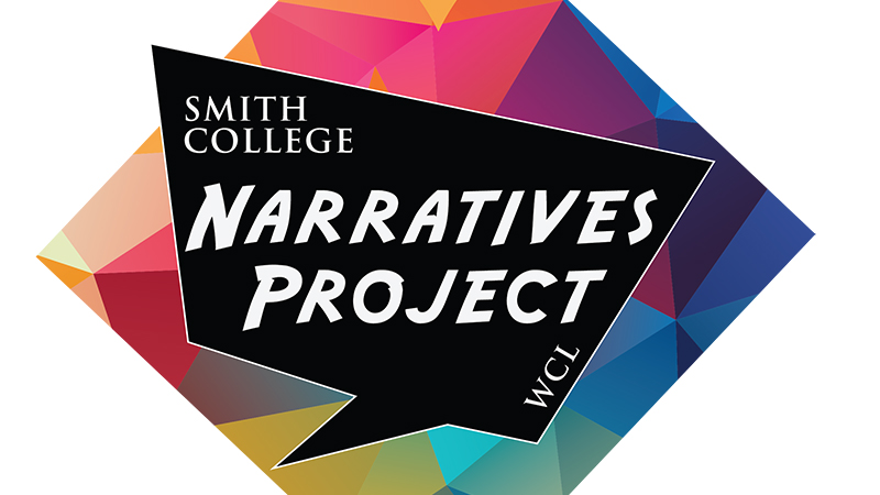 Color image of the Narratives logo