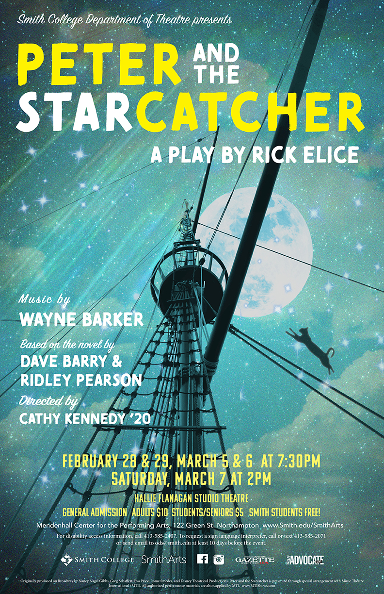 Poster for Peter and the Starcatcher