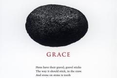 "Maxine Kumin broadside, ""Grace"""
