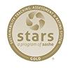 AASHE Gold Stars Logo