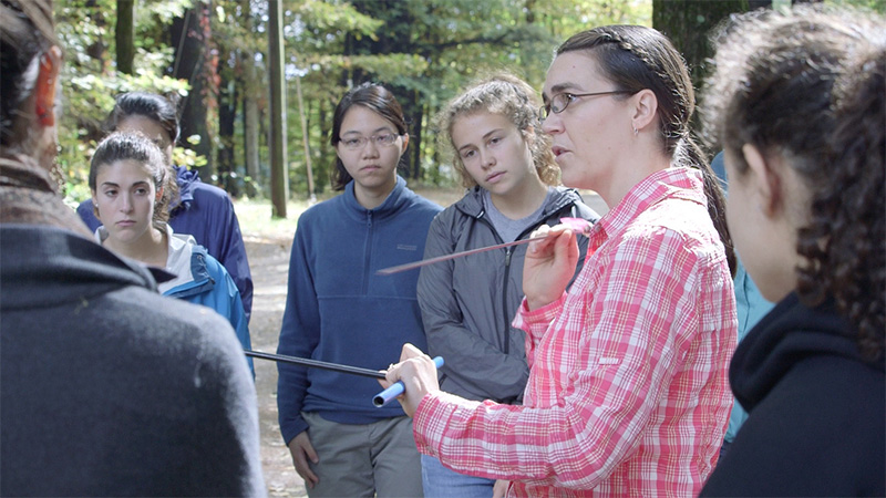 Faculty and Students at MacLeish Field Station