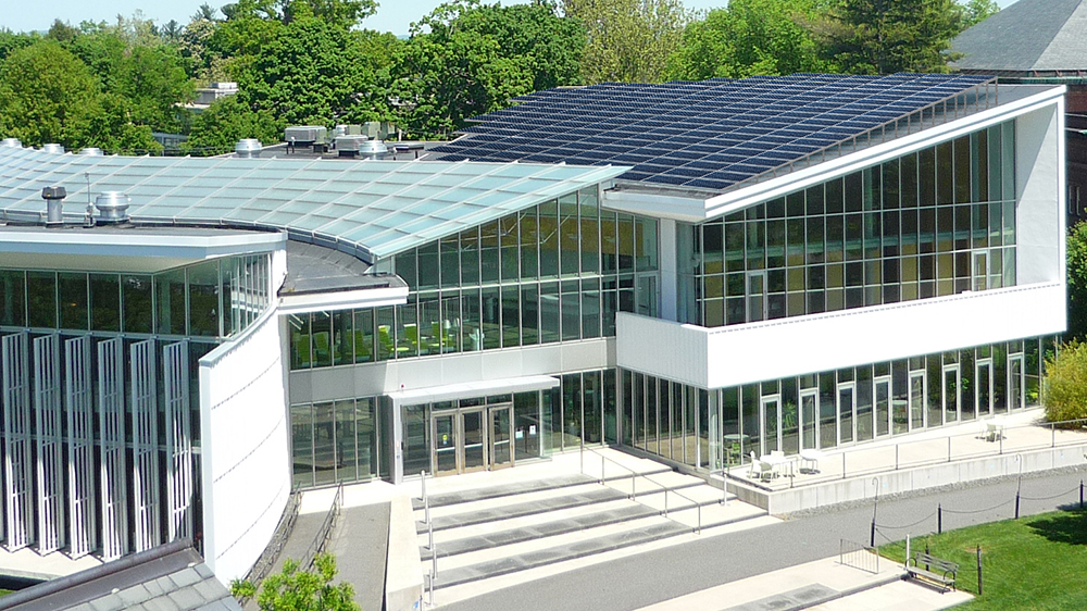 Solar panels on Campus Center, Smith College