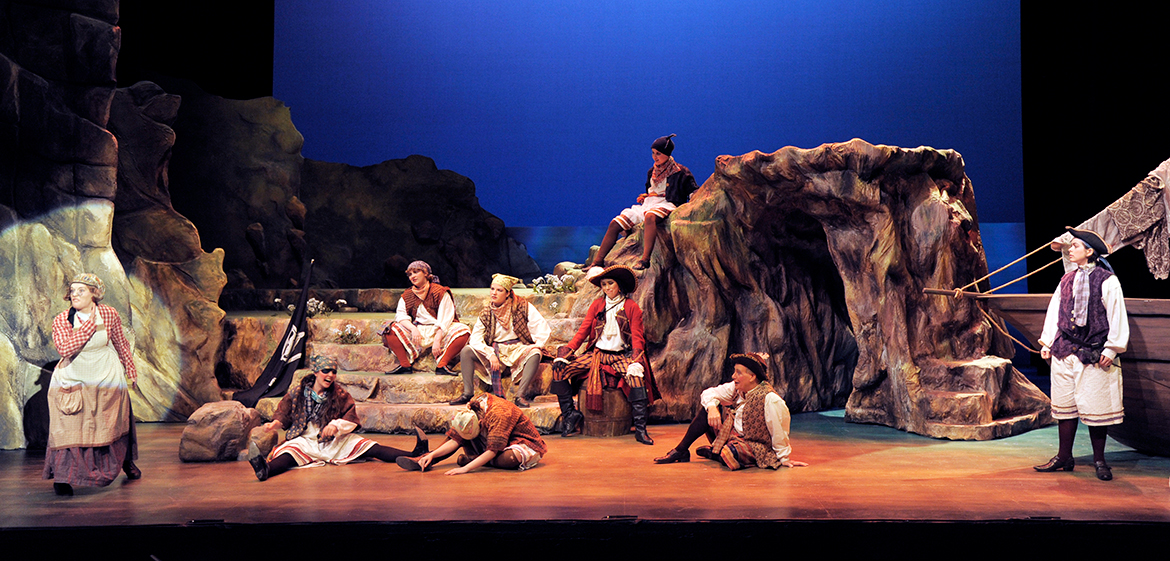 Pirates of Penzance in Theatre 14