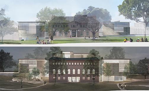 Neilson Library renovation renderings