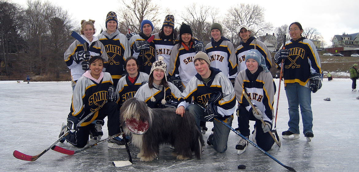 Team photo of the Ice Hockey Club