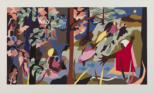 Jacob Lawrence's Forward Together