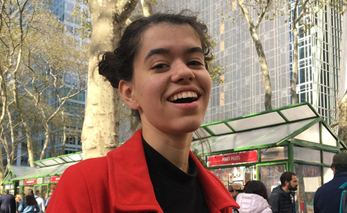 Portrait of Sophie Friend '24