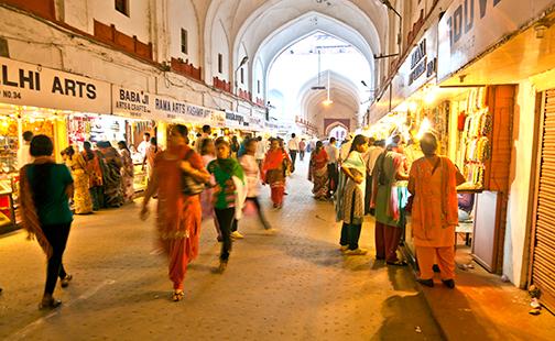 Meena  Bazaar in Delhi
