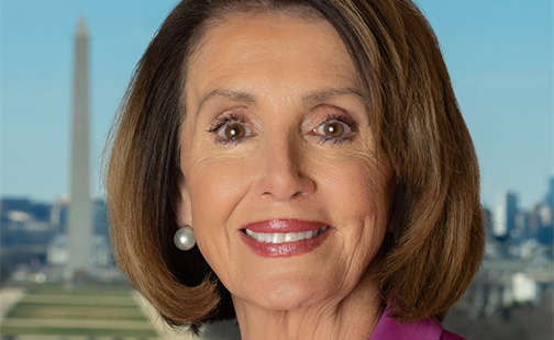 Nancy Pelosi headshot
