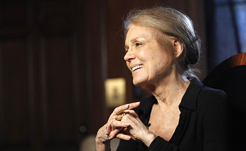 Gloria Steinem '56 is one of five alumnae who will receive the Smith College Medal