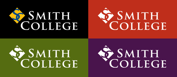Smith College Logo on Color