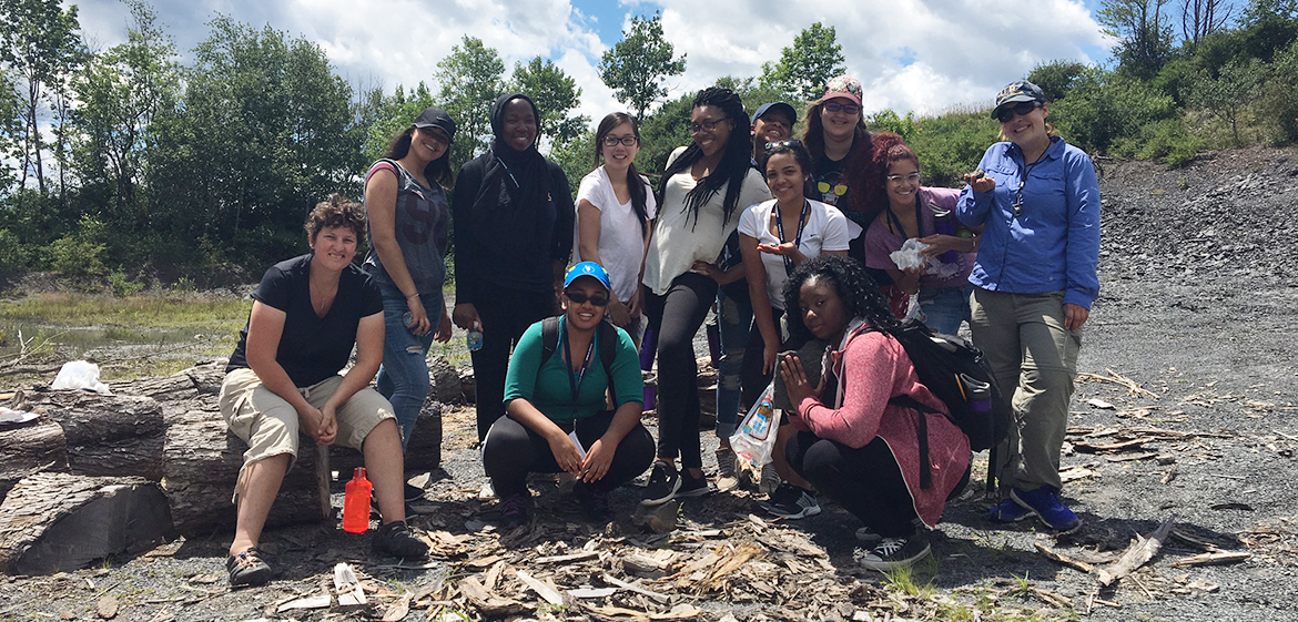 A NY State field trip for STEM Posse 2, July 2016