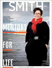 Smith Alumnae Quarterly Winter 2016 cover