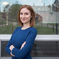 Headshot of Professor Caroline Melly