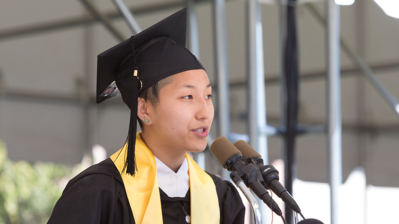 Commencement Student Address 2014