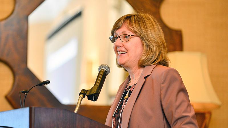 President Kathleen McCartney