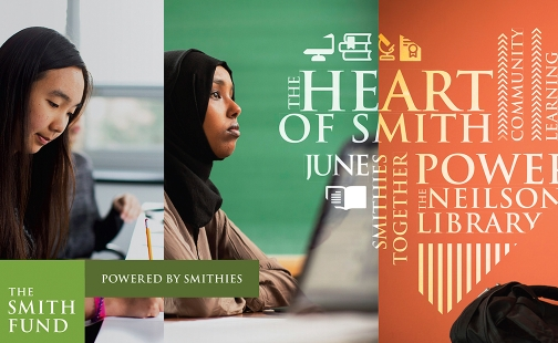 Graphic for Heart of Smith: Smithies Together Power the Neilson Library