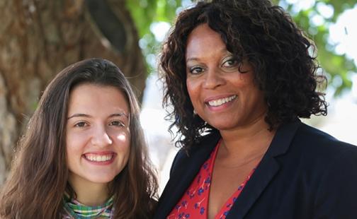 Sophia Casten and Kimberly Scott