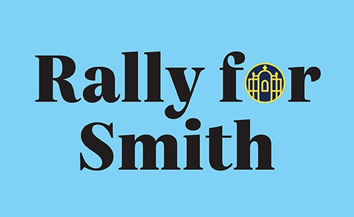 Link to Rally for Smith giving site