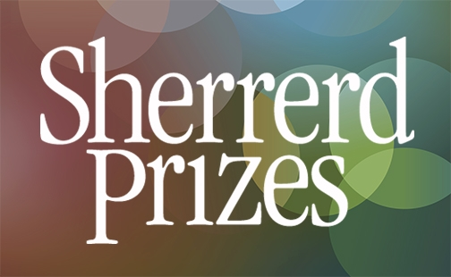 Logo of the Sherrerd Prizes
