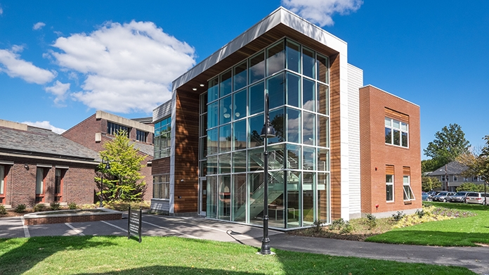 Exterior of the Schacht Center for Health and Wellness