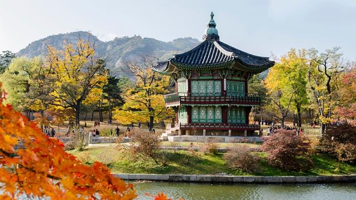 Temple in South Korea