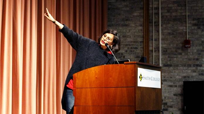 Photo of poet Tiana Clark