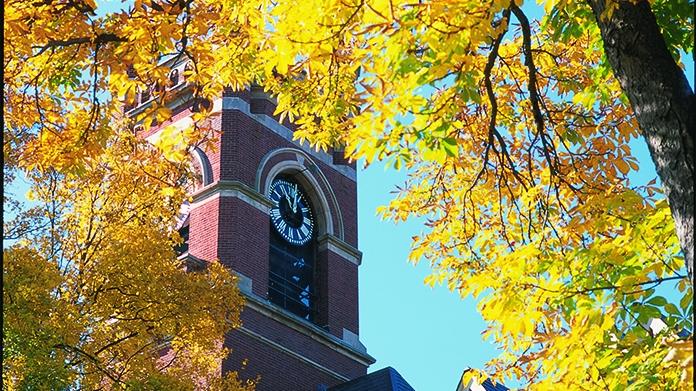 College Hall Clock