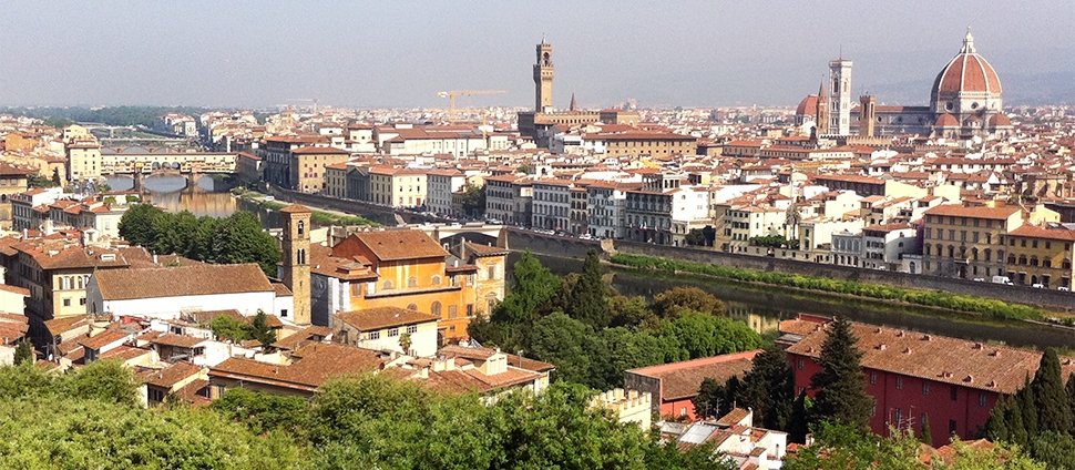 Scenic view of Florence, Italy