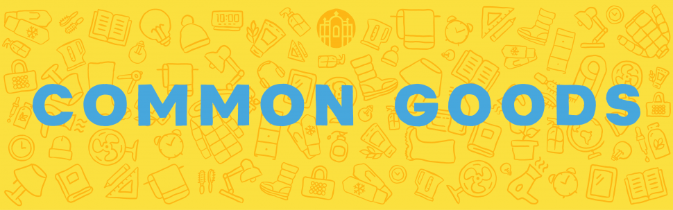 Common Goods - for students, by students (text banner)