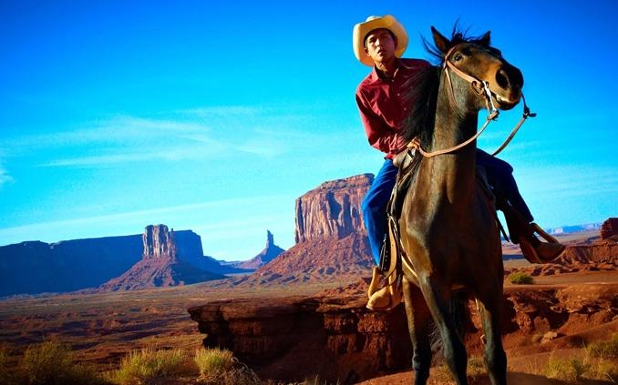Navajo Cowbow in Montana