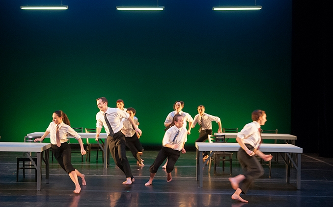Dance performance in Theatre 14