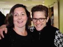 Victoria Foster Van-Voorhis and Susan Colodny