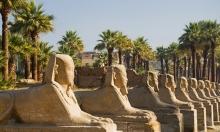 Stock image of Egyptian sphinx