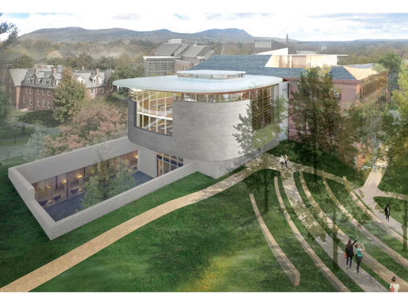 Architectural rendering of New Neilson exterior