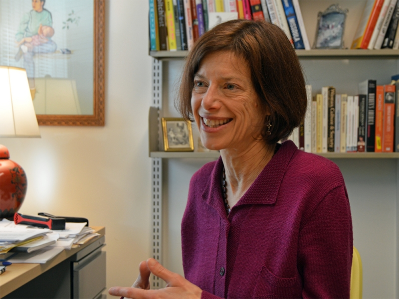 Pulitzer Prize-winning journalist Susan Faludi is the Jacobson Visiting Nonfiction Writer at Smith