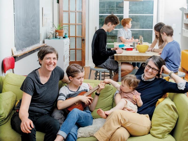 Lex Beach, Meg Eisenhauer and family