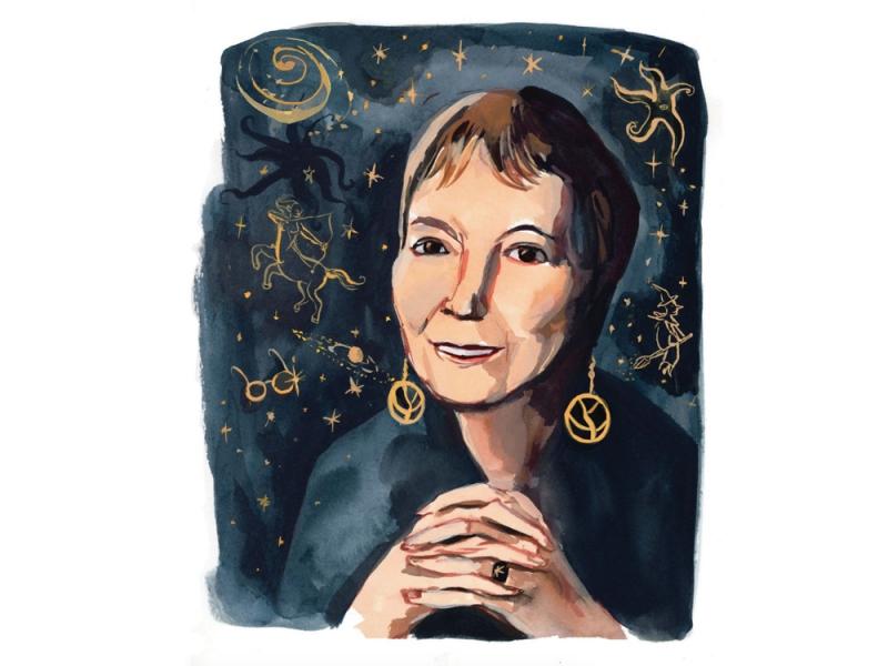 Madeleine L'Engle illustration by Jenny Kroik