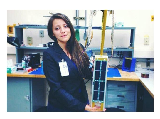 Jackie Granillo '19 was one of 10 Smithies interning at NASA's Ames Research Center this summer.